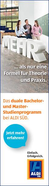 Karriere ist eine Gerade: karriere.aldi-sued.de