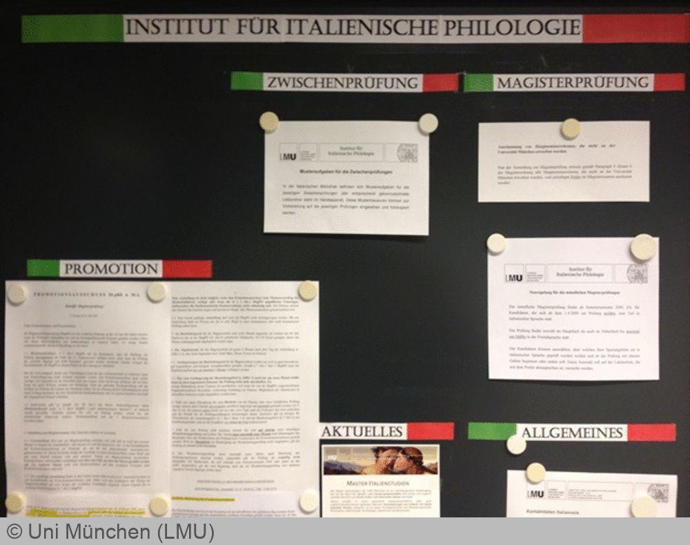 Uni München Bewerbung